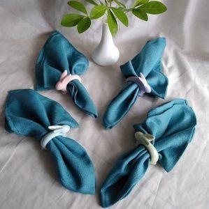 Easter napkins set